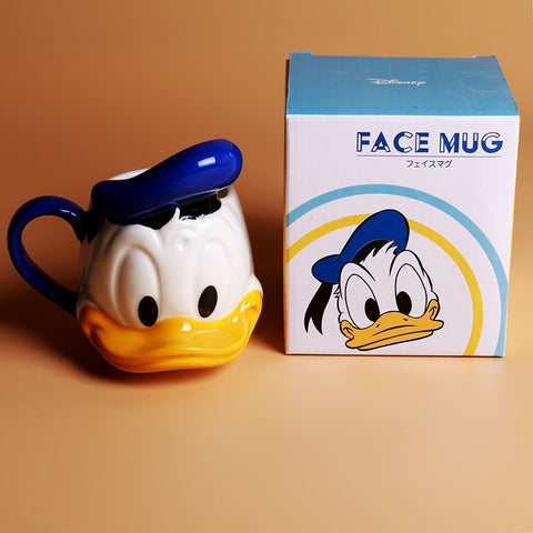 Donald Duck Ceramic Coffee/Tea/Milk Mug - Ideal for Disney Lovers