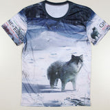 Game Of Thrones Dire Wolf GOF Logo Allover Print Tshirt - TshirtNow.net - 1