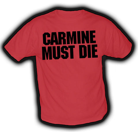 Gears of War 3 Carmine Must Die Tshirt