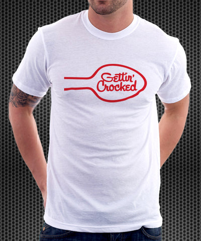 Betty Crocker Logo Parody Spoof Tshirt: Gettin' Crocked Logo
