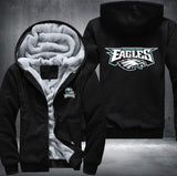 NFL PHILADELPHIA EAGLES LOGO THICK FLEECE JACKET