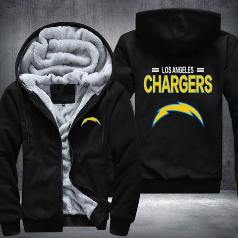 NFL LOS ANGELES CHARGERS THICK FLEECE JACKET