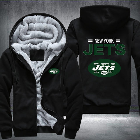 NFL NEW YORK JETS THICK FLEECE JACKET
