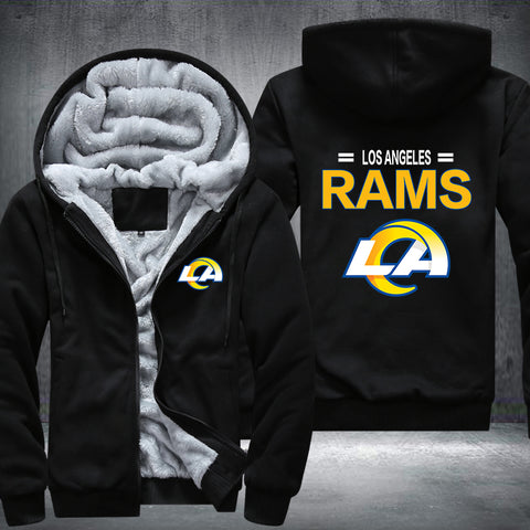 NFL LOS ANGELES RAMS THICK FLEECE JACKET