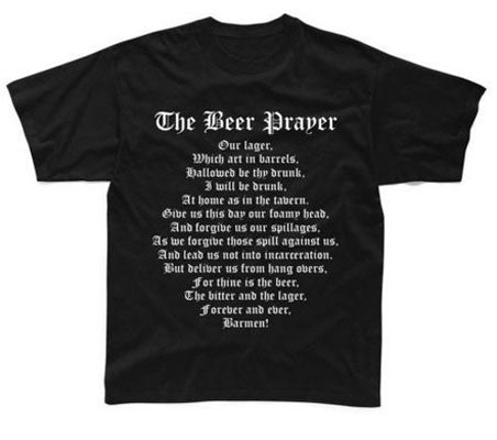 Beer Prayer Tshirt
