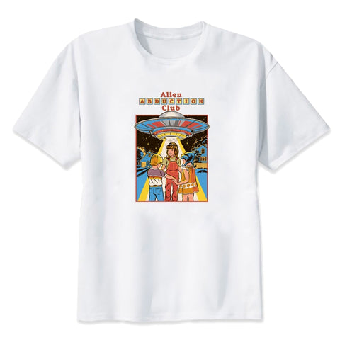 Childhood Alien Abduction Club Tshirt