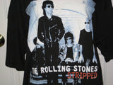 Rolling Stones Stripped Adult Black Size XL Extra Large Tshirt - TshirtNow.net - 1