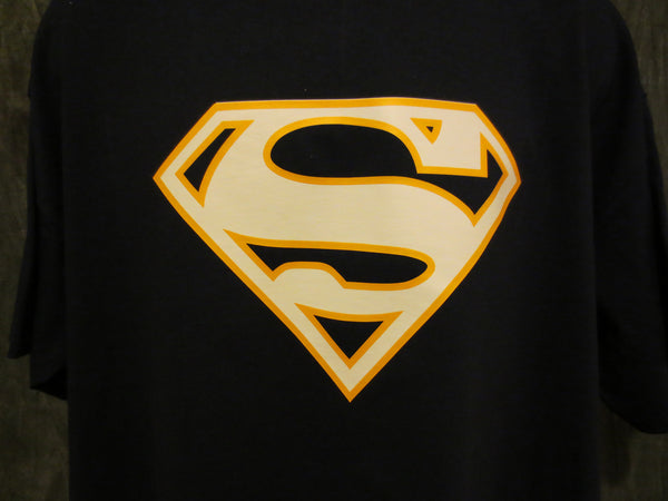 Superman Logo Variant Navy Blue Alternate-Color Superman Logo Tshirt - TshirtNow.net - 1