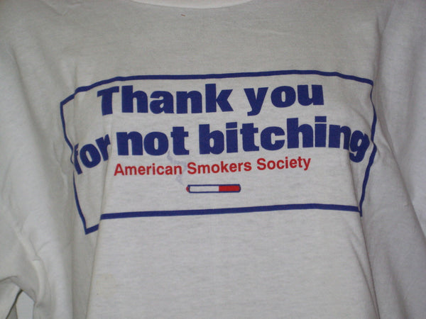 Thank You For Not Bitching Tshirt - TshirtNow.net - 1
