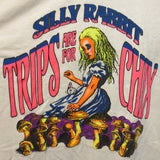 Silly Rabbit Trips are For Chicks Adult White Size XXL Extra Extra Large Tshirt - TshirtNow.net - 4