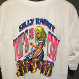 Silly Rabbit Trips are For Chicks Adult White Size XXL Extra Extra Large Tshirt - TshirtNow.net - 3