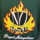 No Doubt Adult Green Size XL Extra Large Tshirt - TshirtNow.net - 10