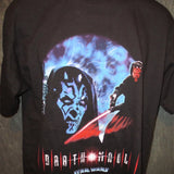 Star Wars Darth Maul Portrait of a Sith Adult Black Size L Large Tshirt - TshirtNow.net - 3