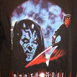 Star Wars Darth Maul Portrait of a Sith Adult Black Size L Large Tshirt - TshirtNow.net - 4