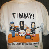 South Park Timmy Lords of Underworld Adult White Size L Large Tshirt - TshirtNow.net - 5