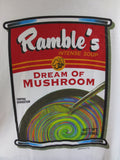 Ramble's Dream of Mushroom Adult White Size L Large Tshirt - TshirtNow.net - 4