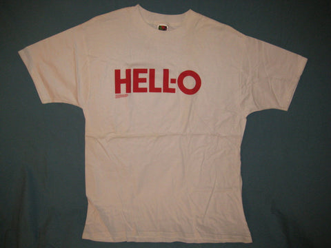 Hell-O Logo Spoof Tshirt Size Large
