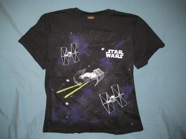 Star Wars Tie Fighter Battle Tshirt Size L - TshirtNow.net - 1