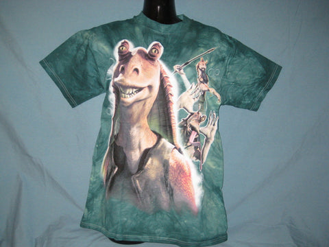 Star Wars Jar Jar Binks Tye-Dye Tshirt
