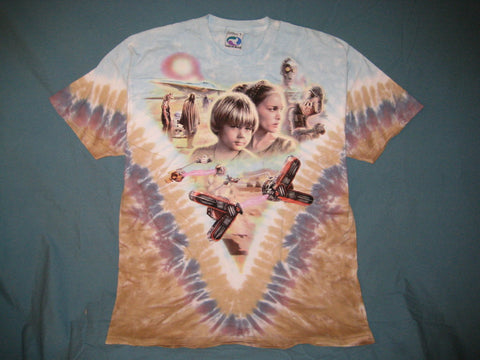 Star Wars Anakin Skywalker Tattoine Tye-Dye t-shirt