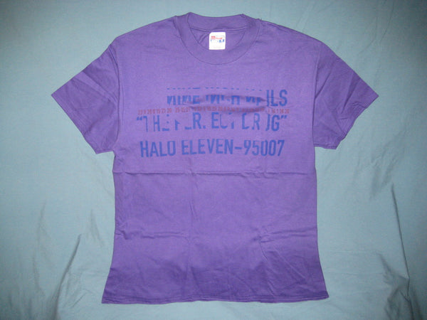 Nine Inch Nails Tour Adult Purple Size L Large Tshirt - TshirtNow.net - 1