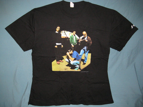 Bush Group Photo Goose Adult Black Size XL Extra Large Tshirt
