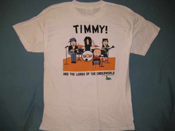 South Park Timmy Lords of Underworld Adult White Size L Large Tshirt - TshirtNow.net - 1