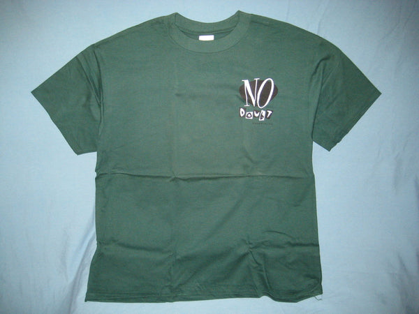 No Doubt Adult Green Size XL Extra Large Tshirt - TshirtNow.net - 1