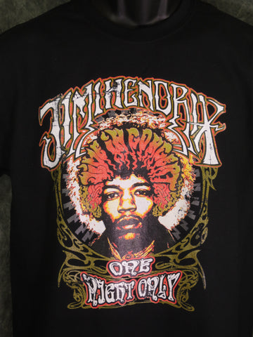 Jimi Hendrix One Night Only tshirt