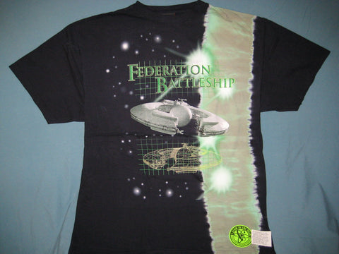Star Wars Federation Battleship Tye Dye Tshirt Size XL