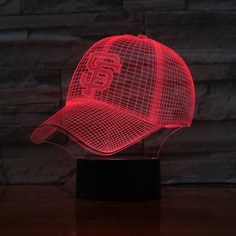 MLB SAN FRANCISCO GIANTS 3D LED LIGHT LAMP