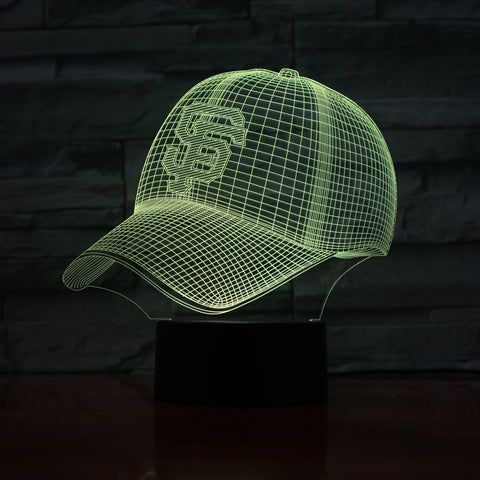 MLB PITTSBURGH PIRATES 3D LED LIGHT LAMP