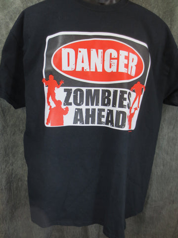 Danger Zombies Ahead Tshirt