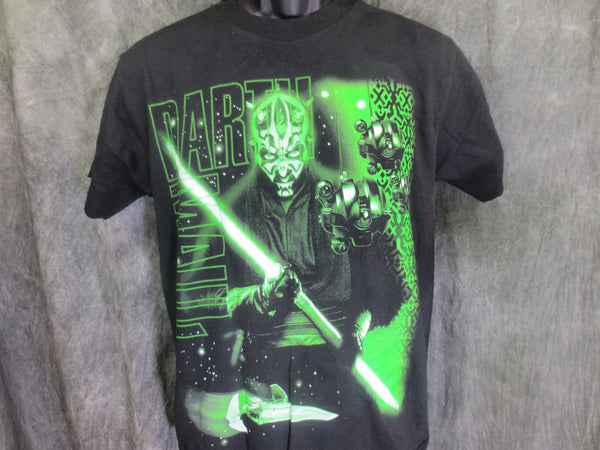 Darth Maul Green Glow Tshirt - TshirtNow.net - 1