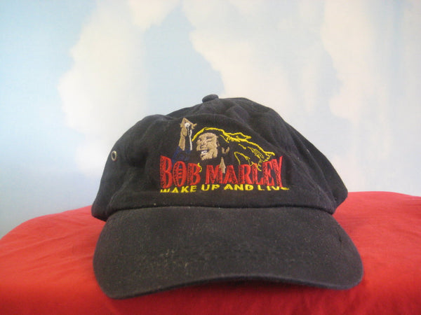 Bob Marley Embroidered Wake Up And Live Cap Hat - TshirtNow.net