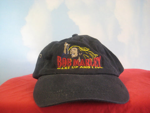 Bob Marley Embroidered Wake Up And Live Cap Hat