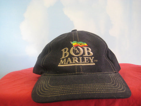 Bob Marley Zion Flag Logo Embroidered Cap Hat