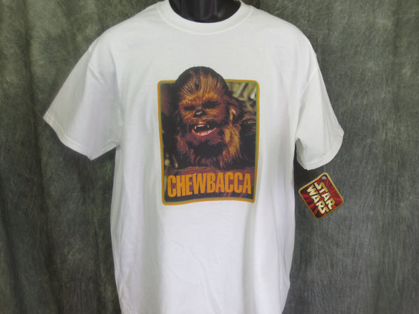 Star Wars Chewbacca Retro Tshirt - TshirtNow.net - 1