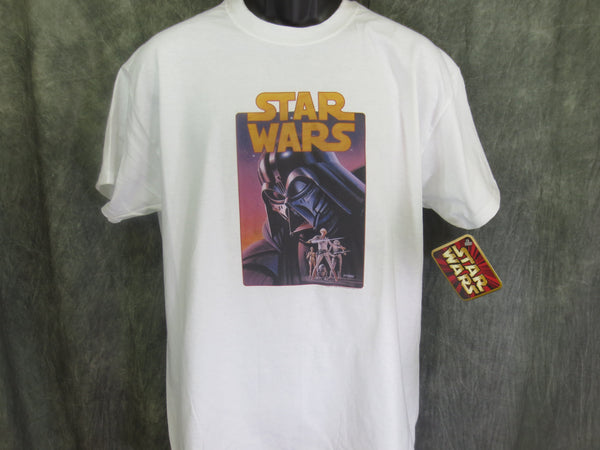 Star Wars Darth Vader Retro Tshirt - TshirtNow.net - 1