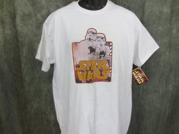 Star Wars Storm Troopers Retro Tshirt - TshirtNow.net - 1