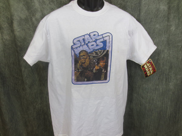 Star Wars Chewbacca and Han Retro Tshirt - TshirtNow.net - 1