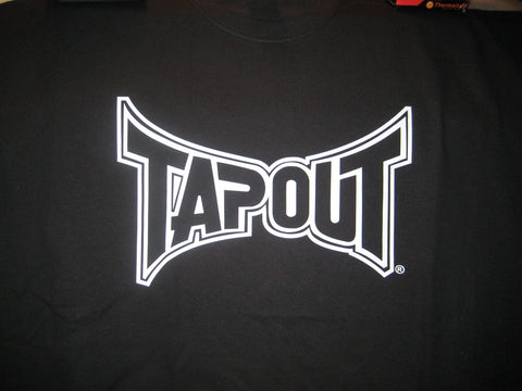 TAPOUT TSHIRT TAP OUT BLACK