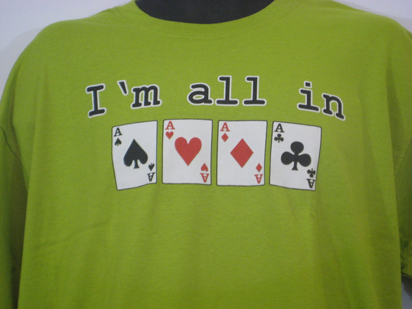 All in Tshirt: Lime Green Colored Tshirt - TshirtNow.net - 1