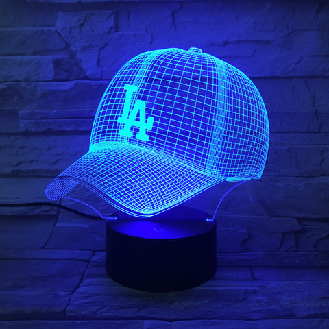 MLB LOS ANGELES DODGERS 3D LED LIGHT LAMP
