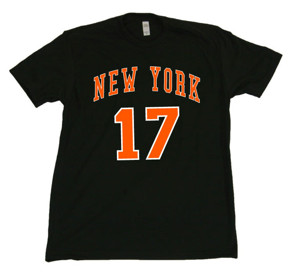 New York Knicks Jeremy Lin - Black Tshirt - TshirtNow.net - 1