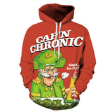 Captain Chronic Cap'n Chronic Allover 3D Print Hoodie
