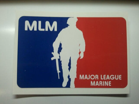 Major League Marine Decal
