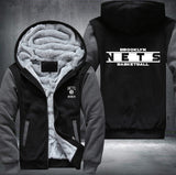 NBA BROOKLYN NETS THICK FLEECE JACKET