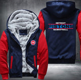 NBA DETROIT PISTONS THICK FLEECE JACKET