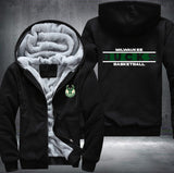 NBA MILWAUKEE BUCKS THICK FLEECE JACKET